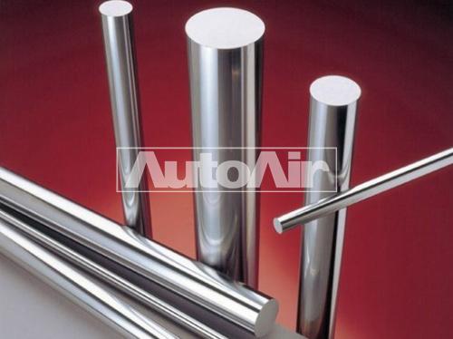 chrome-plated rod