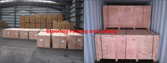 exporting packing and loading