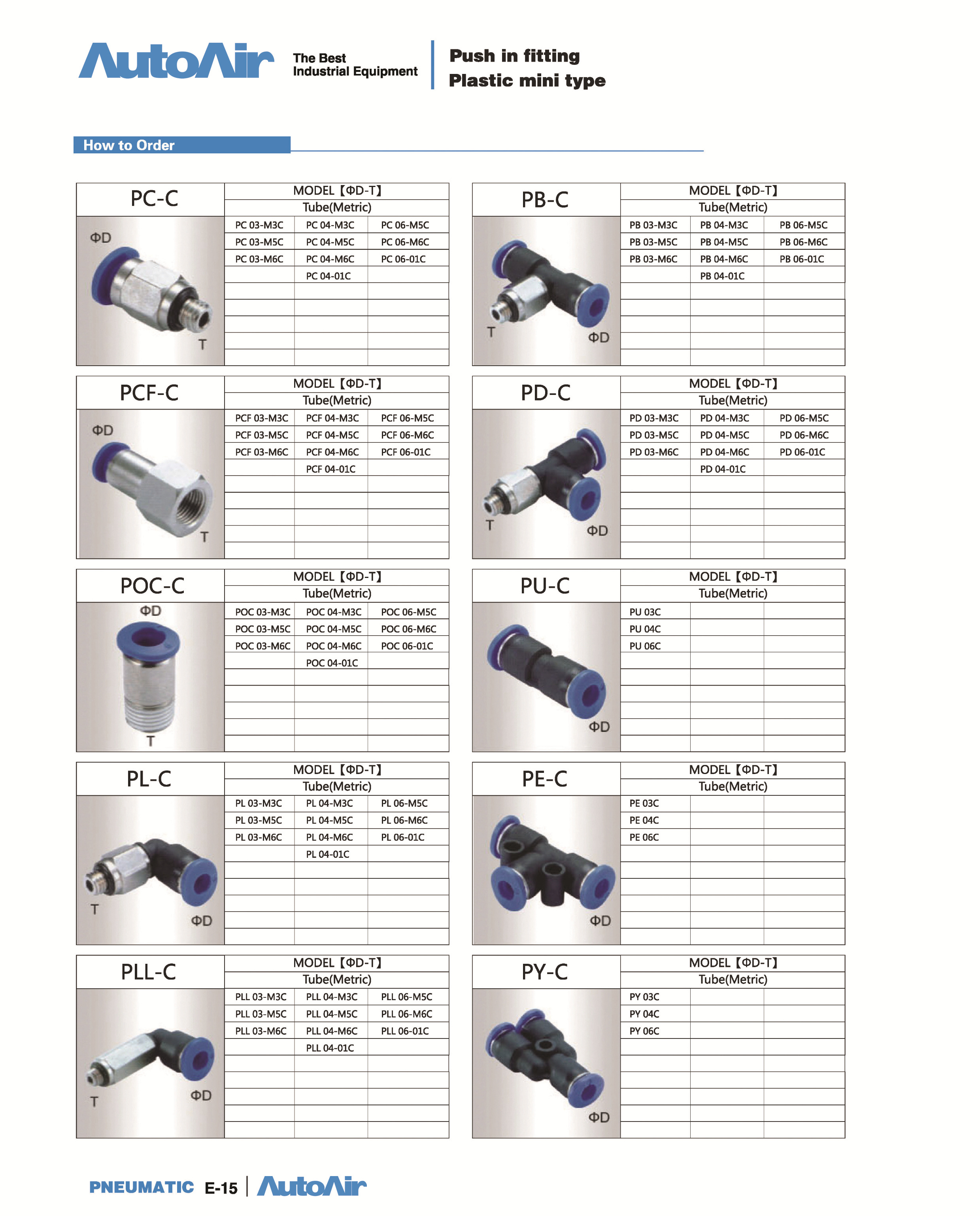 fittings and tubing(15)